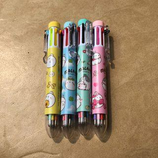 pulpen warna-warni