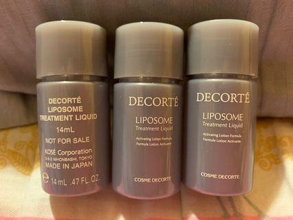 COSME DECORTÉ Liposome Treatment Liquid 保濕化妝水 14ml 1枝$18 2枝$35 3枝$50