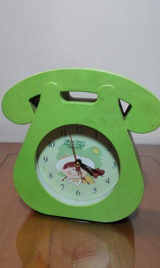Vintage Green Clock