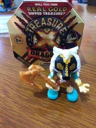 🚚 Treasure X - Golden Wolf