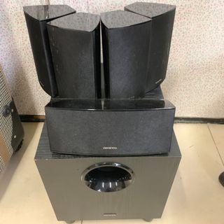 onkyu 5.1 surround sound system