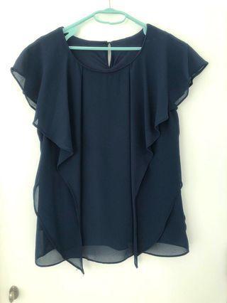 OL上衣 (Navy blue)