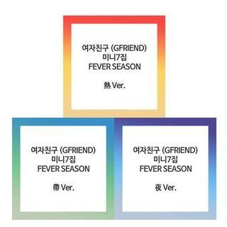 GFRIEND - FEVER SEASON 7TH MINI ALBUM