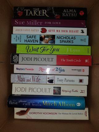 Preloved novels - english fiction