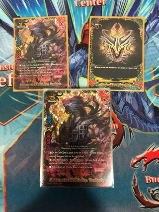 🚚 Buddyfight Cards hundred demons
