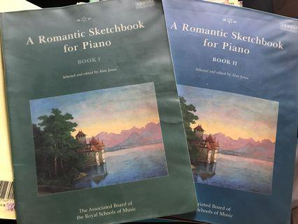 A Romantic Sketchbook for Piano Book 1&2