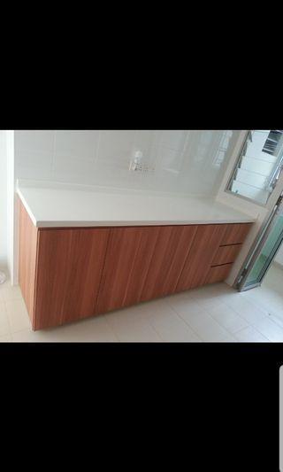 Carpenter customade kitchen cabinets