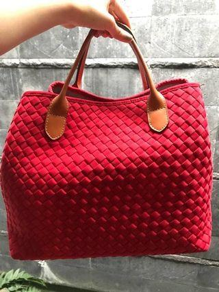 Webe Authentic bag ( Red )