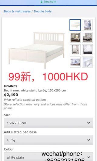 queen size bed frame and mattress big sale