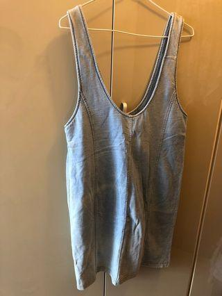Woman-Denim vest Dress (New)