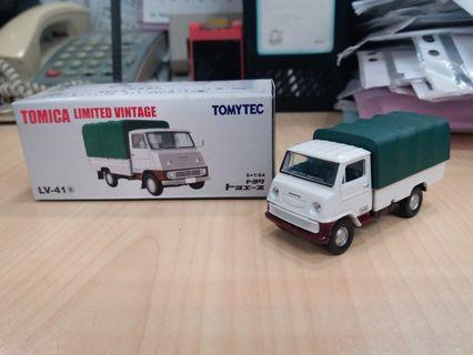 新淨 絕版 Tomytec Tomica Limited Vintage LV-41a Toyota Toyoace 貨車