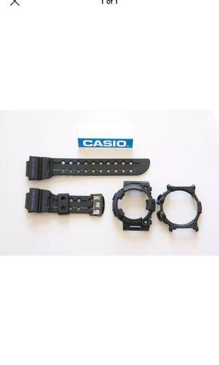 100% Authentic new Casio G-Shock Men in Purple Frogman GWF-1000BP-1 Band Bezel & Back cover set limited edition