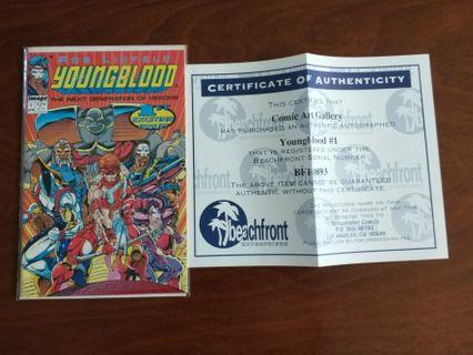 Youngblood #1 (signed by Rob Liefeld)