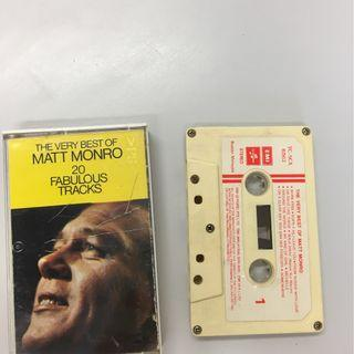 MATT MONRO prerecorded cassette tape