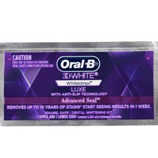 3D White Luxe Advance Seal Teeth Whitening Strips