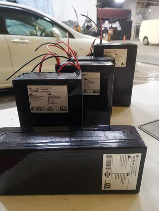 Refurbished Panasonic batteries