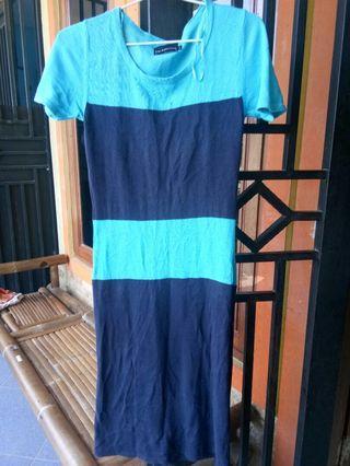 Blue Dress Rajut The Executive