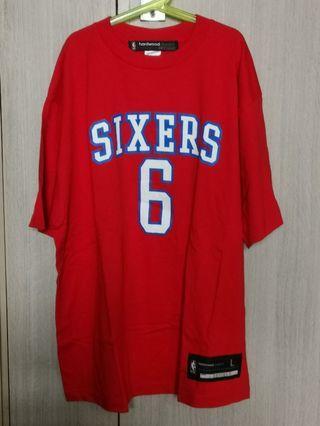 NBA tee Reebok 76ers