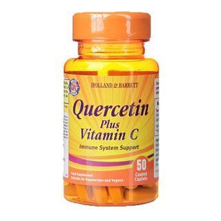 [英國代購] Holland & Barrett 槲皮素加維生素C Quercetin plus Vitamin C 50 Caplets 11月底截單