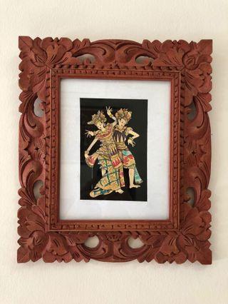 Original Hand Painting - Balinese Dancers 😍