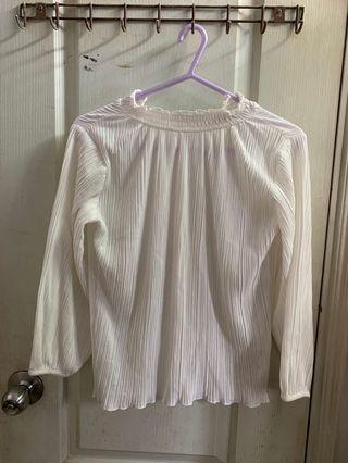 White blouse (free size)