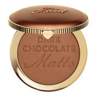 TOO FACED MATTE BRONZER SOLEIL : DARK CHOCOLATE (RM50 FREE POSTAGE)