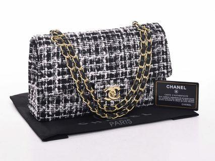 Chanel Tweed Classic Flap