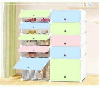(2 units) Multi purpose cupboard (bag and Clothes)