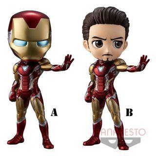 (預售) 全新日版鋼鐵俠 Iron man - Qposket Figure - Marvel系列