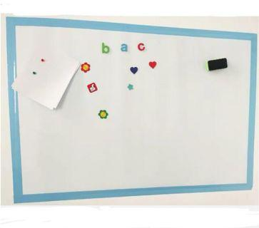Wall Soft magnetic whiteboard with lots of free gift