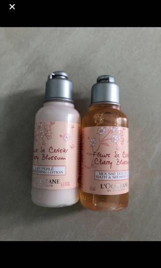 🚚 L'occitane bath sample