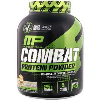 MusclePharm Protein Powder, 增肌戰鬥機緩釋蛋白粉4 lbs