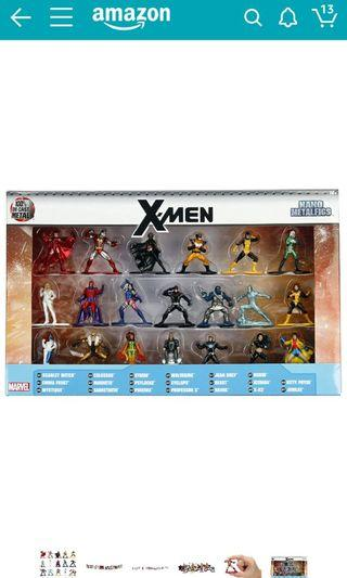 Marvel X-Men Metal Figs sale