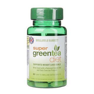 [英國代購] Holland & Barrett 超級綠茶食療 Super Green Tea Diet 60 Tablets 11月底截單