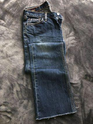 Abercrombie and Fitch Vintage Bootcut Jeans