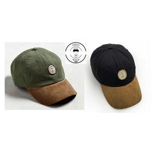 『誰合普UHF®』合作寄賣 美式水洗 拼接鴨舌帽 男女皆可 情侶帽 2色(網路特賣價$570)起標價=直購價