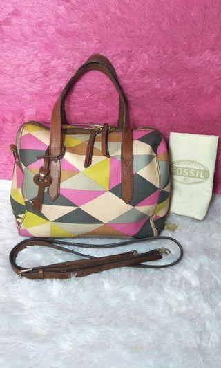 Fossil ss multi pink