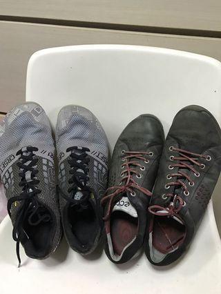 Reebok/Ecco men's shoes (size euro 45)