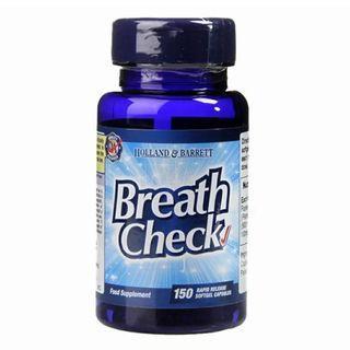 [英國代購] Holland & Barrett 口氣檢查 Breath Check 150 Capsules 11月底截單