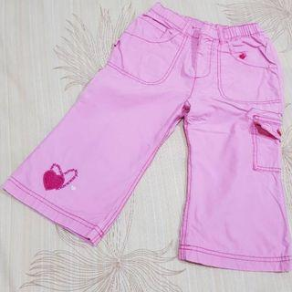 Cargo pants girl Mothercare celana pink ori MC