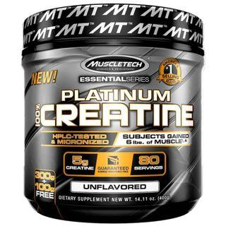 Muscletech Creatine, 白金版100%微粉化肌酸 400g