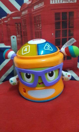 Fisher Price Bright Beats Franky Beats Bat & Boogie Character