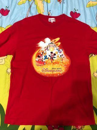 Disney 香港 全新棉T 買到賺到