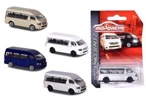 徵以下圖Majorette Toyota Hiace 四架不同色 有意放pm