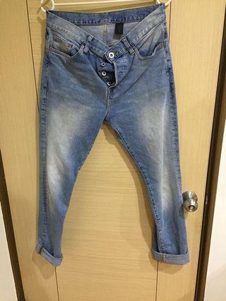 H&M 牛仔褲 32腰