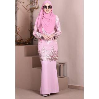 MMC BAJU KURUNG LACE SOPHIE PINK (SIZE: XXS BIG & LOOSE CUTTING) RM90 FREE POSTAGE NEW WITH TAG
