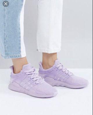 BNWT Adidas Lilac EQT Sneakers