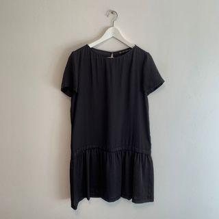 Zara Basic Drop Waist Dress