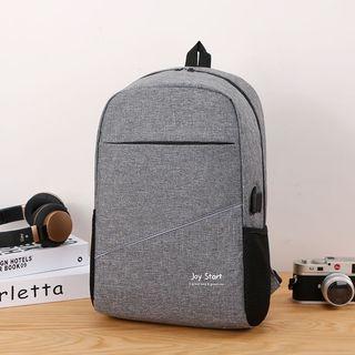 Korean men's backpack business travel 15.6-inch laptop shoulder bag high school students college bag female