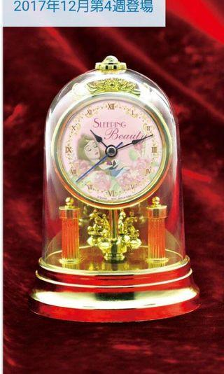Disney - sleeping beauty swivel feature clock